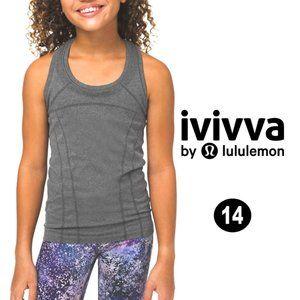 Ivivva by Lululemon Fly Tech Tank Grey